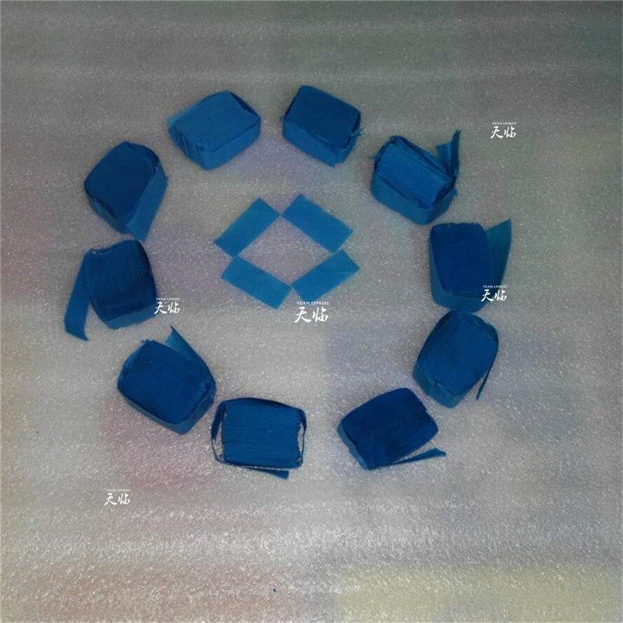 50 kg/lot 5*2cm Rectangle Color Optional Tissue paper confetti paper