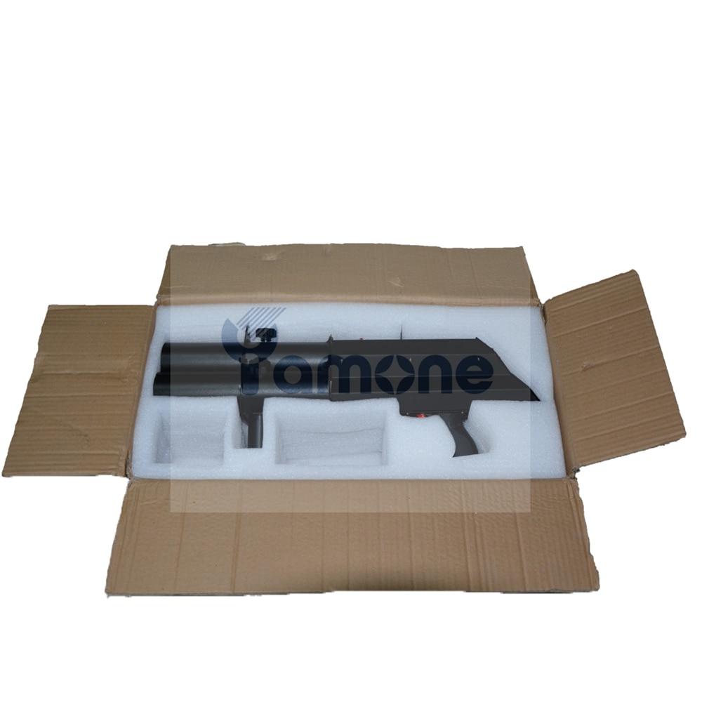 1pc/Lot Three Head Confetti Shoot Gun Trigger Electric Confetti Cannon FX Shooter Hand Control Stage Effect Machine For Wedding