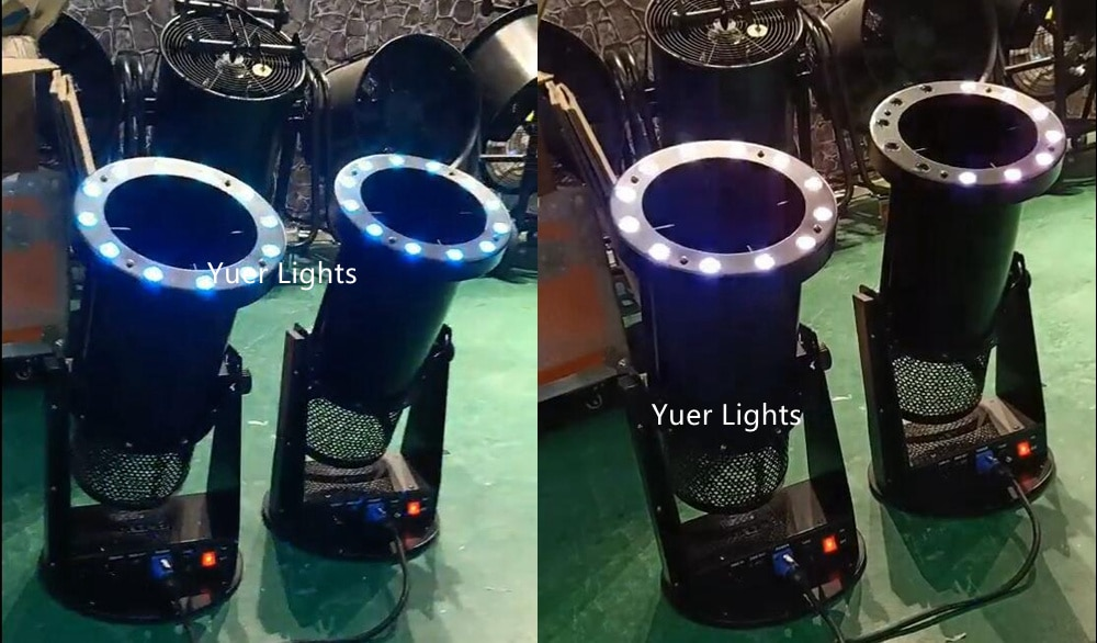 Free Shipping High quality 1200W Led Wedding Confetti Cannon Machine Wedding Machine Confetti Machine for Party LED Club Light
