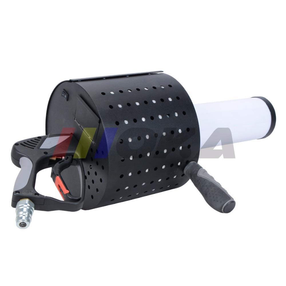 New coming LED CO2 Confetti Cannon super led co2 dj gun magic cryo fx co2 confetti machine gun led co2 jet machine free 3m hose