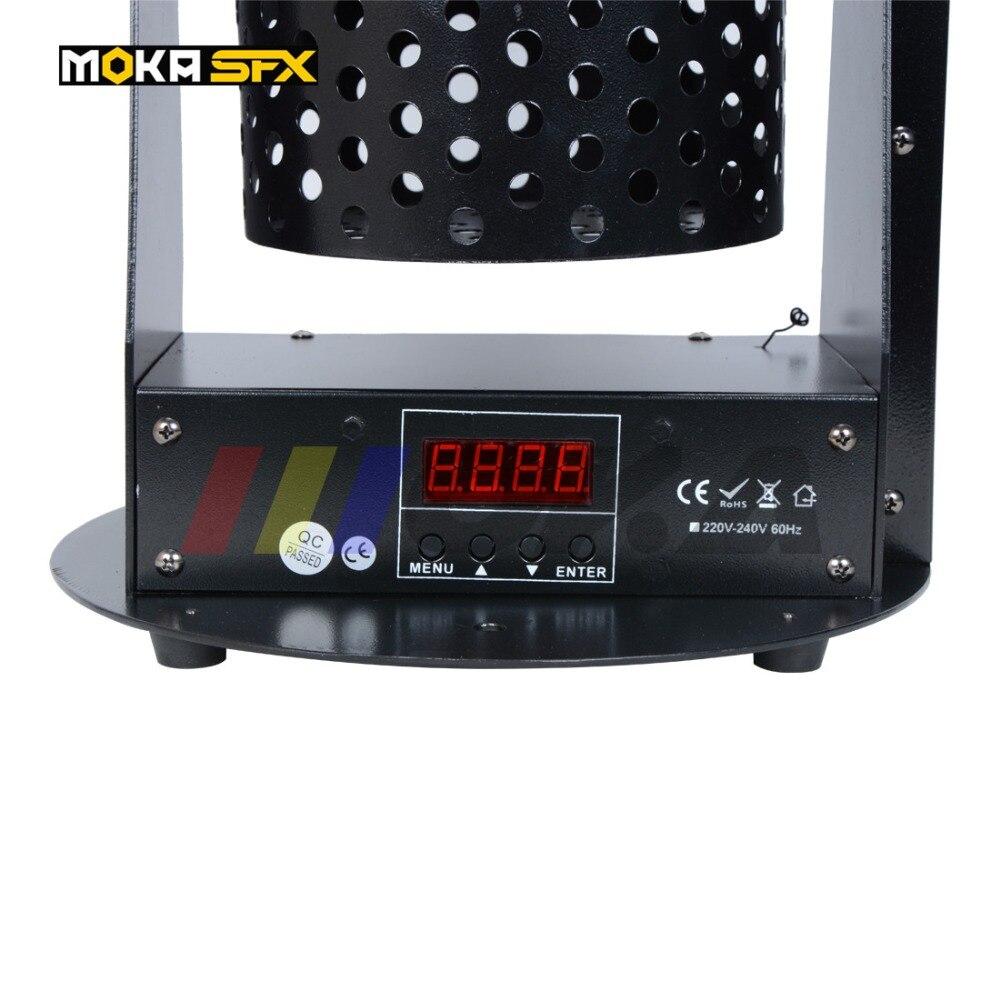 1200W Led Confetti Machine RGB led lamp confetti cannon color paper confetti machine