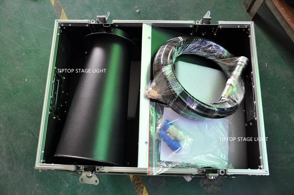 Free Shipping TIPTOP DMX 512 Confetti Machine With 4 Meter Hose Confetti Cannon Shoot Distance 10 Meter Manual/Power/DMX 512