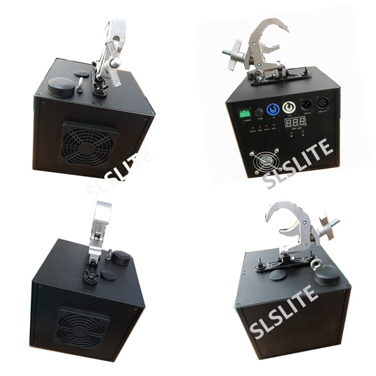 2PCS/LOT Water Fall Cold Spark Fountain Machine Titanium Metal Powder Fire Sparkular  for Wedding Events
