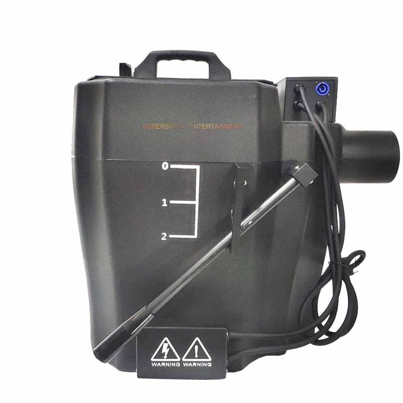 6000w Dry Ice Fog Machine Manual Control Big Power Low Ground Fog Smoke Dry Ice Machine For DJ Disco Wedding Party Big Show