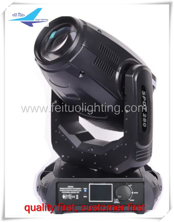 A-(with road case) Robe 280w sharpy 10R 280 beam spot wash 3 in 1 moving head light