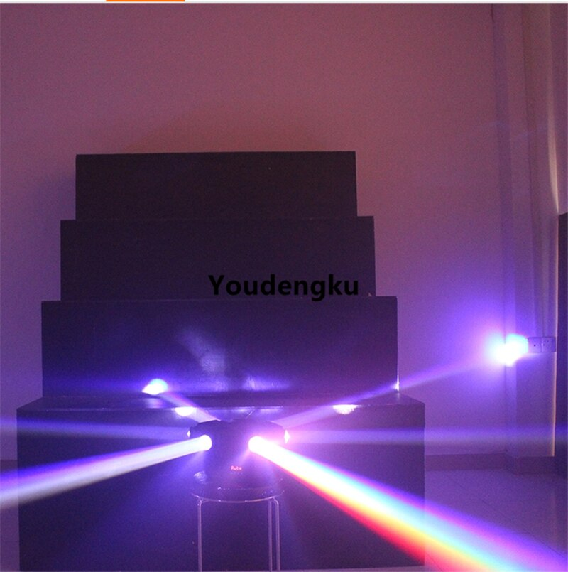 4pcs Six Heads 4in1 RGBW beam moving head lighting 6x10w rgbw led disco beam movinghead  lighting for party wedding