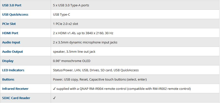 QNAP TS-453B 4G memory 4-bay diskless nas, nas server nfs network storage cloud storage, 2 years warranty