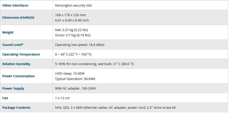 QNAP TS-453B 4G Memory 4 Bays Diskless Nas Server NFS Network Storage Cloud Storage 2 Years Warranty