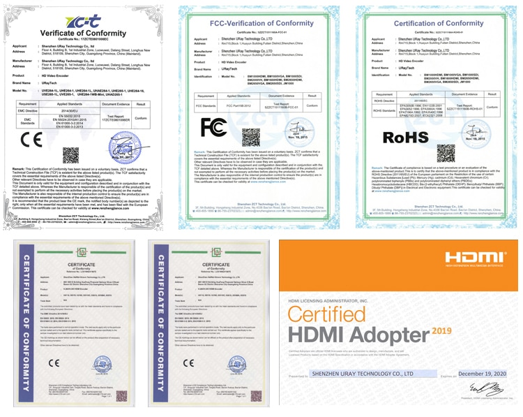 4 Channels H.265 H.264 SD HD 3G SDI to IP Streaming RTSP RTMP RTMPS SRT Encoder IPTV SDI Live Streaming Video Encoder Server