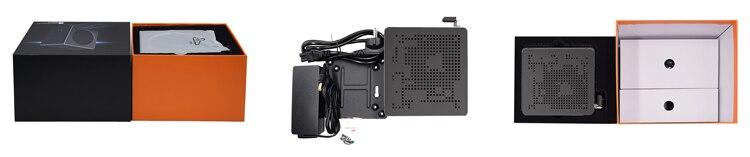 SQR Dual  LAN Coffee Lake i9 i7 i5 CPU Gamer PC Mini ITX Gaming PC Server Workstation Desktop Computer 4K Portable