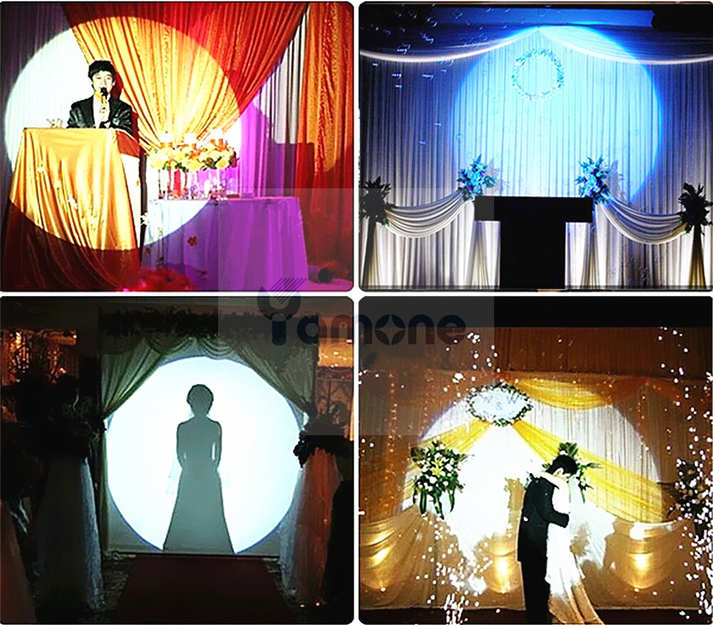 1pc/Lot 440W LED Follow Spot Light With Power 440W LED Follow Tracker With Stand And Flight Case For Wedding Theater
