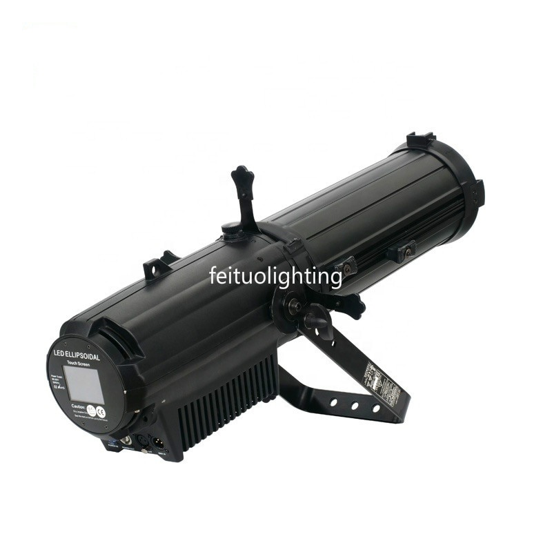 2pcs Stage Lighting Focus Follow Spot Light 350w RGBW 4in1 Or 300w RGBAL 5IN1 COB Ellipsoidal Led Profile Spot Light For Events