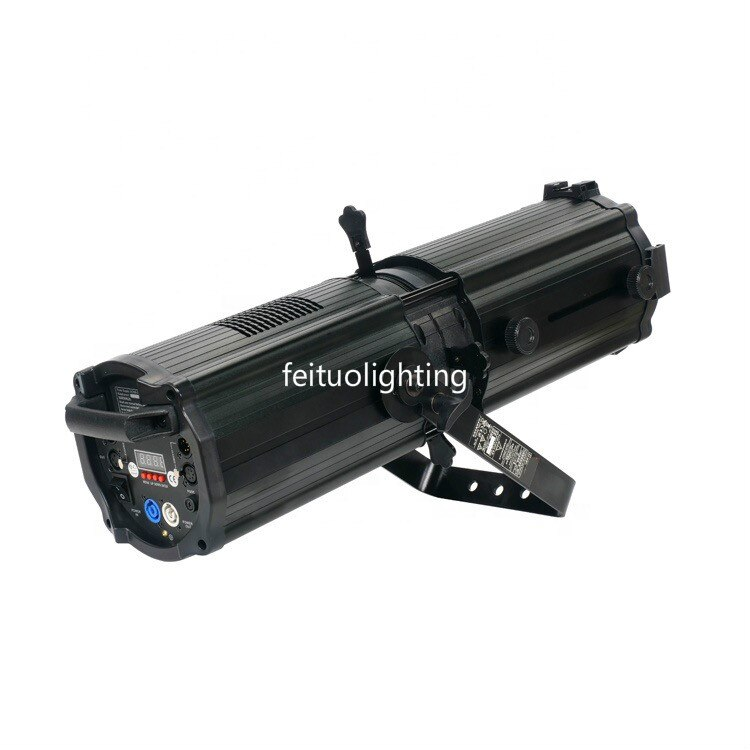 200W 2in1,4in1 Zoom Profile Gobo Projector LED Studio leko light 300w ww, cw LED Follow Spot with Zoom 1pcs-12pcs carton packing