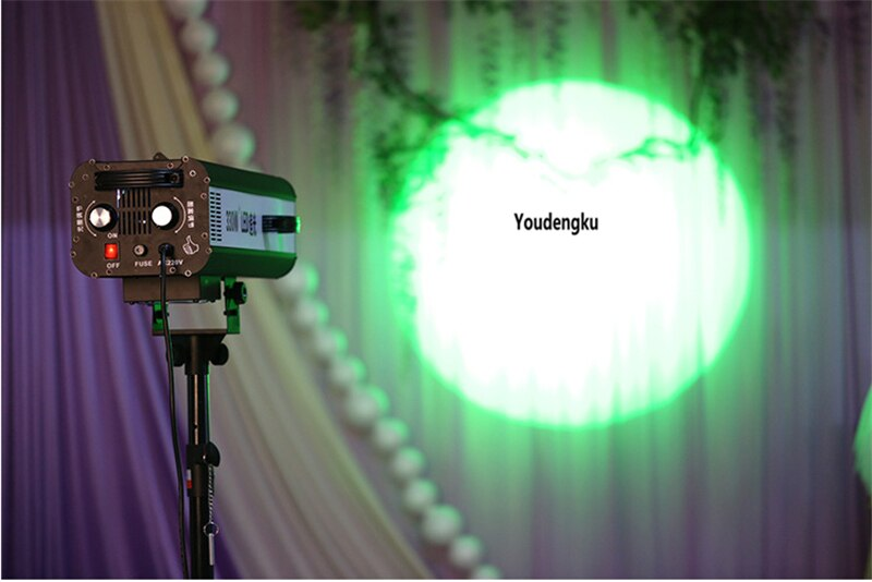 1 pieces with flightcaseStage Lighting 330W LED Follow Spot Light with Flycase fow Wedding Light Event