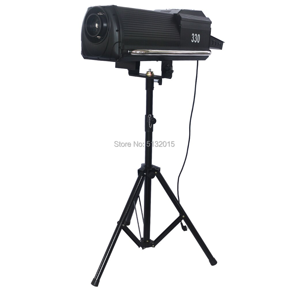 LED Follow Chasing Light 200-300-400W DMX Electronic Zoom Party Wedding Music Show Event Pro Auto Stage Lighting With Flightcase
