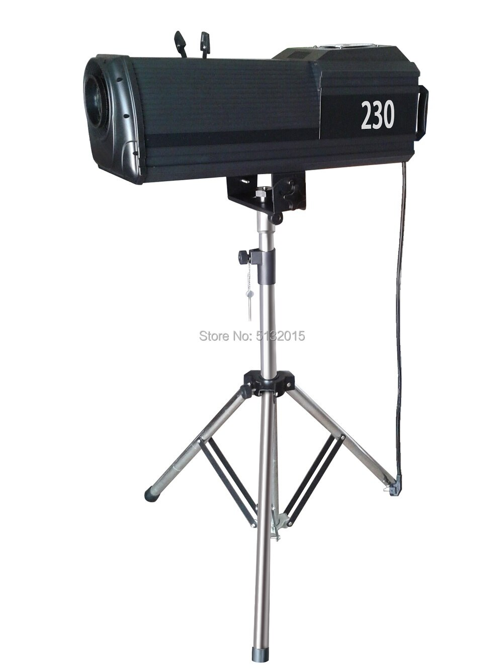 Projector Bubble Follow Spot Light Manual Zoom 200/230/330/350/440/470W 6 Colors Stage Lighting Effect DJ Equipment With Flycase